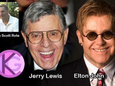 Jerry Lewis & Elton John to Sign The Art of Adam Scott Rote