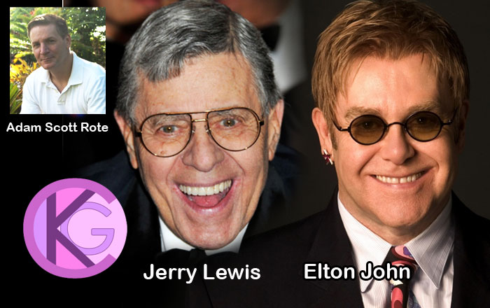 Jerry Lewis & Elton John to Sign The Art of Adam Scott Rote