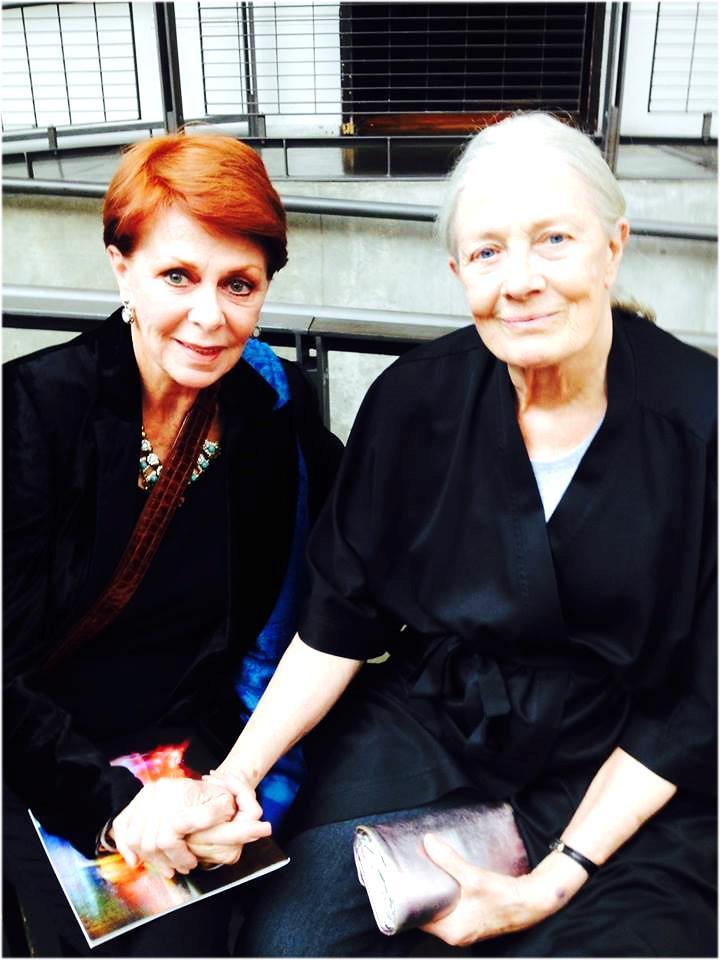 Karen Cadle and Vanessa Redgrave