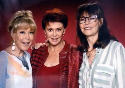 Karen with Barbara Eden & Barbara Feldon