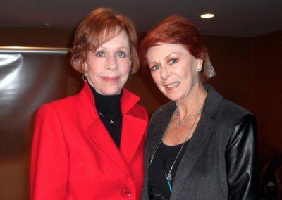 Karen with Carol Burnett