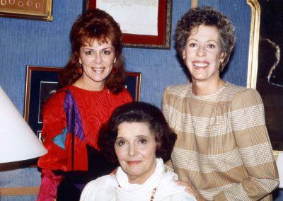 Karen with Carol Burnett & Patricia Neal
