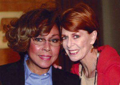Karen with Diahann Carroll