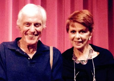 Karen with Dick Van Dyke