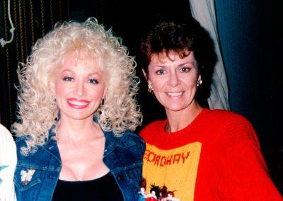 Karen with Dolly Parton