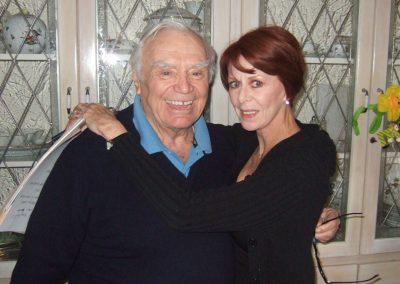 Karen with Ernest Borgnine