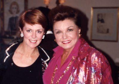 Karen with Esther Williams