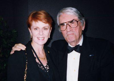 Karen with Gregory Peck