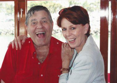 Karen with Jerry Lewis