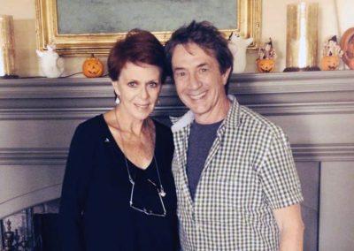 Karen with Martin Short