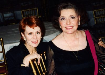 Karen with Patricia Neal