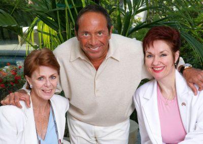 Karen with Paul Anka & Toni Morrell