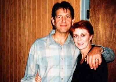 Karen with Peter Coyote