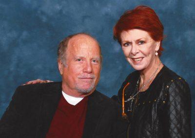 Karen with Richard Dreyfuss