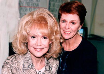 Karen with Sandra Dee