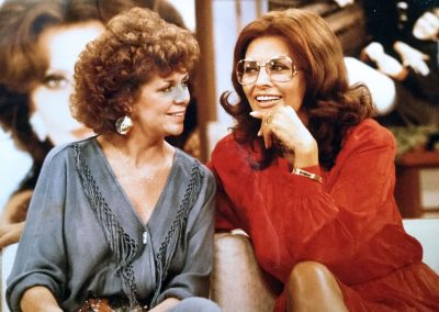 Karen with Sophia Loren