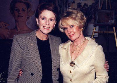 Karen with Tippi Hedren